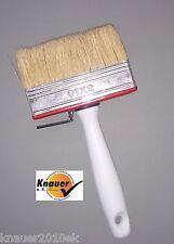 3 Stück 100 mm Deckenbürste Pinsel Flächenstreicher Flachpinsel Lasurbürste