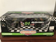 BILL ELLIOTT #94  THUNDERBAT McDONALDS FORD THUNDERBIRD BY ERTL 1/18 SCALE .
