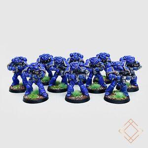 Warhammer 40k Ultramarines - Painted Tactical Squad Lot of 10 - BoxedUp