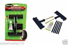 Slime 1034-A T-Handle Tire Repair Kit Plug Set Flat Puncture New Free Shipping