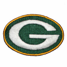 """Green Bay Packers Iron On Patch 2"""" by 1.375"""" 100% embroidered made in the USA"""