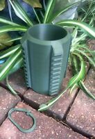 Army Green - Tactical Coozie, Soda, Beer Can Koozie With Picatinny Rails