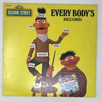 Sesame Street Every Body's Record LP Vinyl Bert And Ernie Album Original 1979
