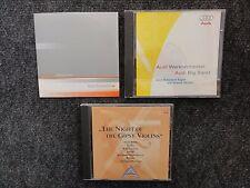 3x AUDI NAIAS 2000 1996 1997 MUSIC CD TRIANGULAR TUNES GIPSY VIOLINS BIG BAND !!
