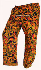 INDIAN BAGGY GYPSY HAREM PANTS YOGA MEN WOMEN COTTON PLAZO PRINTED TROUSERS FWE