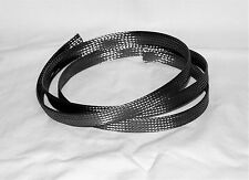 """Braided Stainless Steel Hose/Wire/Cable Sheathing, Expands up to 1/2"""" ID; Custom"""