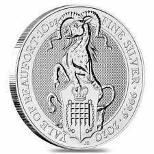 Anlagemünze 10 oz Silber 999.9 Queen's Beasts - Yale of Beaufort 2020