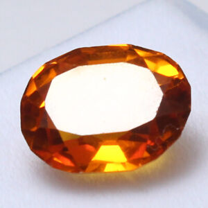 Certified 5.75 Ct Natural Ceylon Champagne Sapphire Unheated Loose Gemstones