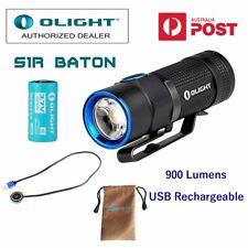 Olight S1R Baton Turbo S 900 lumen USB rechargeable LED torch/flashlight