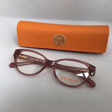 New Authentic Tory Burch TY 2032 1104 Eyeglasses Frames Pink Translucent 51-15
