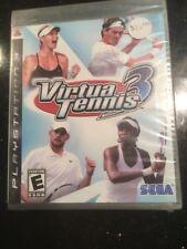 Virtua Tennis 3 (Sony PlayStation 3, 2007)  Brand New Factory Sealed