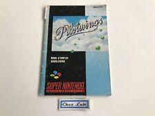 Notice - Pilotwings - Super Nintendo SNES - PAL FAH