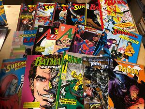 31 x DC Comic Alben und Sonderbände (Batman, Superman....)  [637B]