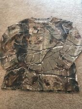 Redhead Boys Brown Green Real Tree Camo Top Large