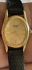Vintage Seiko Ladies Women's Watch Pre-Owned Very Good Condition Needs Battery