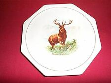 Very Nice Harker 1840 Decorative Plate Elk & Mountains
