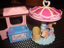 MATTEL FISHER PRICE LITTLE PEOPLE SWEET STREETS  MERRY-GO-ROUND..4.99