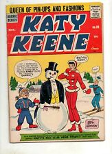 Katy Keene #39 GLOSSY VG+ 4.5! Archie Series 1958 No Cut-Outs! NICE Book!