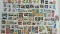 Quality Packet of 100 Different Used Isle of Man Stamps~Collection~UK Seller