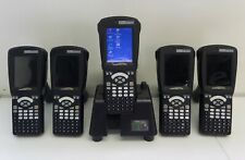 Lot of 5 Psion Teklogix WA900-G1 Workabout Pro Scanners with WA4003-2 Dock