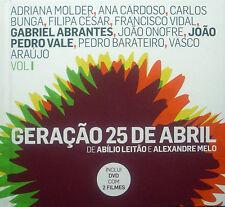 5xDVD Abilio Leitao / Alexandre Melo - GERACAO 25 DE ABRIL VOL. 1-5, Portugal