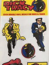 Vtg Disney Dick Tracy Stickers Warren Beatty Car Vinyl Decals Nos New 1990