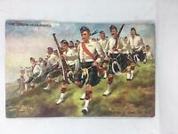 Vintage Postcard The Gordon Highlanders Harry Payne Tuck  & Sons British Army UK