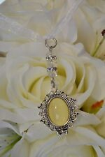 Bridal memory memorial photo charm bouquet buttonhole flower wedding bride groom