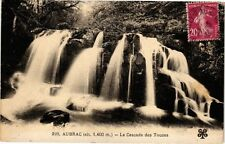 CPA Aubrac - La Cascade des Touzes (240415)