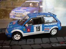 CITROEN  AX GTI  RALLYE MONTE CARLO 1993  1/43 ixo altaya