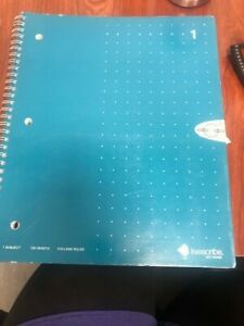 Livescribe Dot Paper One Subject Spiral Notebook College Rule #1, #2, #5, #6, #8