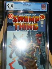 SWAMP THING 2 CGC 9.4 WHITE PAGES BERNI WRIGHTSON 1972
