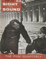 Sight And Sound Spring 1962 - Satyajit Ray, Jean Renoir, Kenji Mizoguchi