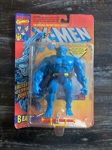Marvel The Uncanny X-Men Beast 1994 Toy Biz Action Figure Mutant Flipping Power