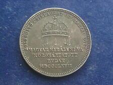 """Krönungsjeton 1867 A Österreich - Ungarn Kaiserin Elisabeth  """" Sissi    W/20/464"""
