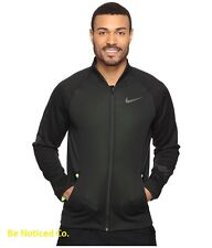 Nike Therma Sphere Mens Jacket 2XL Black Volt Casual Outdoors Training New