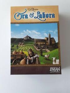 Ora and Labora - Z-Man Games - Uwe Rosenberg - Complete