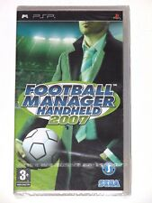 SONY PSP - FOOTBALL MANAGER HANDHELD 2007! BRAND NEW/SEALED! FRANCE VER. NEUF!