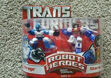 Transformers Robot Heroes - Transformers Mirage & Starscream