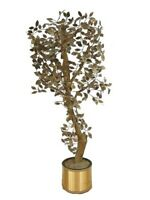 "Cjere, Curtis Jere 73"" T Vtg Tree Brutalist Free Standing Sculpture Mid Century"