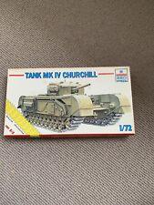ESCI Vintage Tank MK IV Churchill Tank model kit scale 1:72