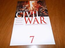 Civil War #7 (2006) First printing in HIGH GRADE - Millar / McNiven, Iron Man