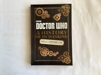 Doctor Who A History of Humankind Book PB New