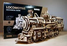 DIY 3D Wood Puzzle kit TRAIN Locomotive set - Exclusive Robotime