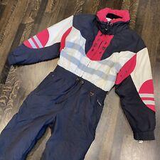 Hot Pink Retro Full Turbo TYROLIA Ski Suit!