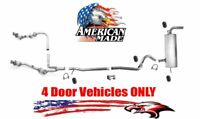 New Exhaust Catalytic Converters System for Jeep Wrangler 2007-2009 3.8L 4 Doors