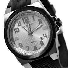 CERRUTI MENS ROMA CAMPIONE SWISS QUARTZ WATCH NEW CT68481X17C022 RUBBER STRAP