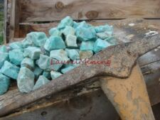 NATURAL AMAZONITE ROUGH - 1000 CARAT Lots - UNCUT RAW GEMSTONES - Treasure Hunt