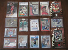 25 card combo lots Jersey, auto, graded card, rc, , lots of $10-20 cards in lots