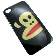 cover custodia rigida Iphone 4 4S  nuova versione logo scimmia nero new